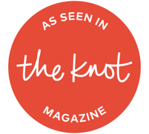 As seen in The Knot Magazine